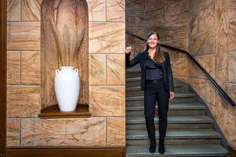 """Louise Larsson: """"Att vara mäklare är en livsstil"""""""
