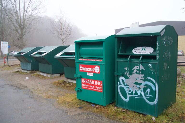 Återvinningsföretaget Emmaus larmade i augusti om att flera av deras containrar varit utsatt för inbrott.
