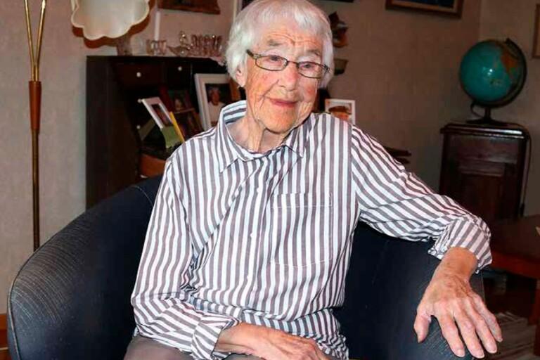 Hanna Petersson blev 106 år