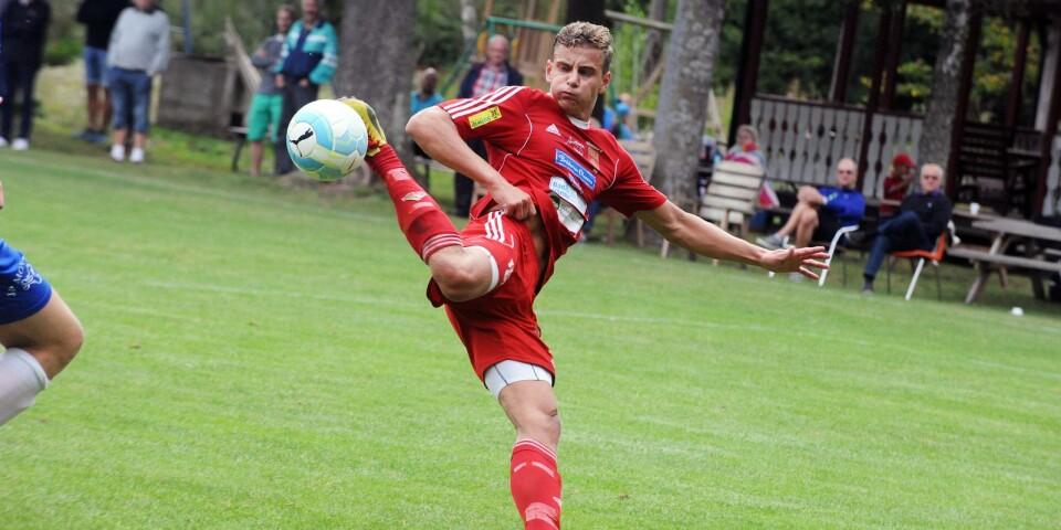 Viktor Olofsson, Ölands bäste fotbollsspelare på herrsidan säsongen 2015, 2016 – och 2017.