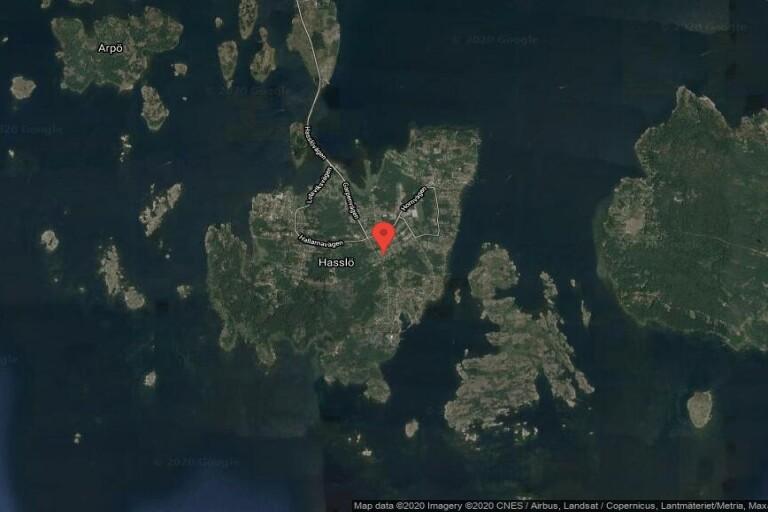 112 kvadratmeter stort hus på Hasslö sålt för 1110000 kronor