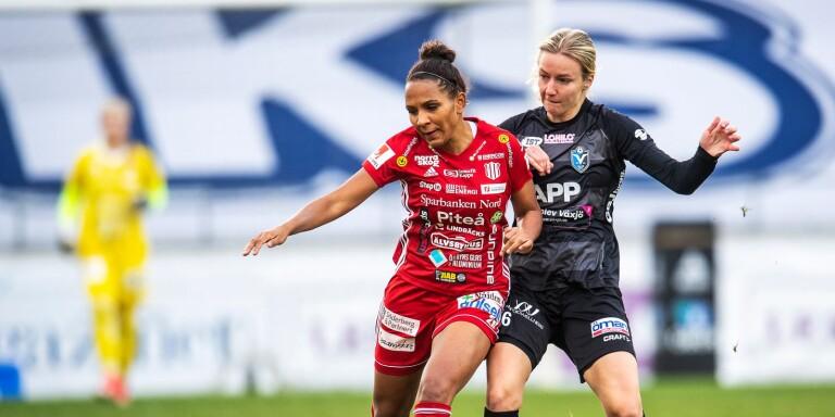 Växjö DFF-spelare uttagen till U23-landslaget