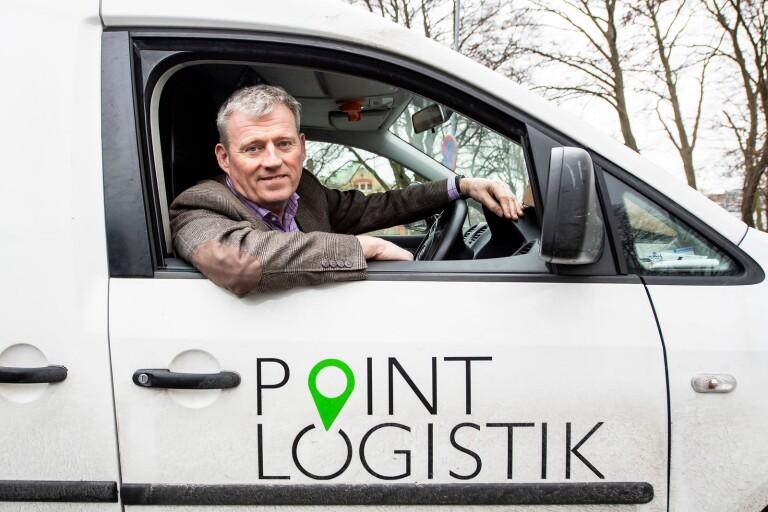 Klädjätte ny storkund hos Point Logistik