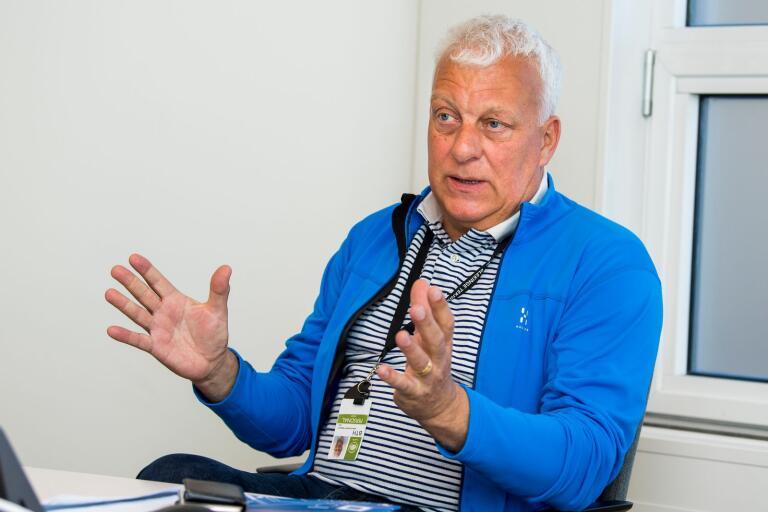Johan Sanmartin Berglund är professor vid institutionen för hälsa på Blekinge Tekniska Högskola.