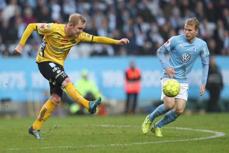 Simon Lundevall gjorde fem säsonger i Elfsborg.