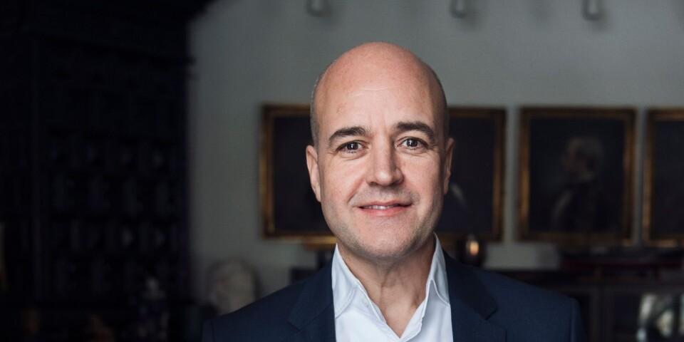 2012 hade en moderatledd regering med Fredrik Reinfeldt som statsminister.