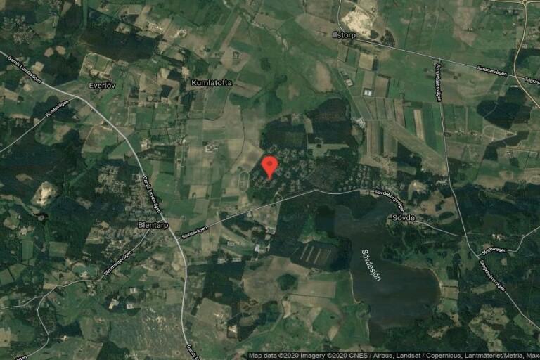 Mindre 70-talshus på 55 kvadratmeter sålt i Karups sommarby, Blentarp – priset: 1250000 kronor