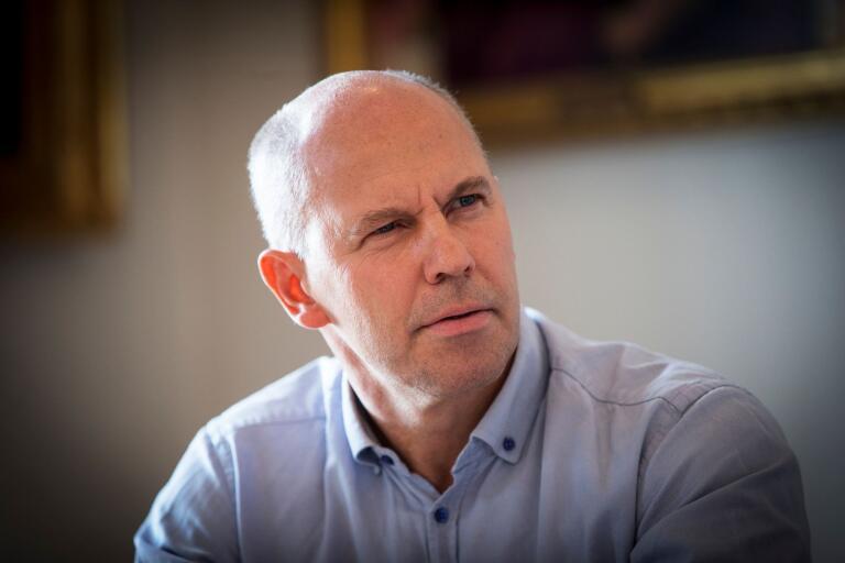 Erik Lundström (KD), nyvald som kommunstyrelsens 1:e vice ordförande och därmed en av Trelleborgs högst uppsatta politiker.