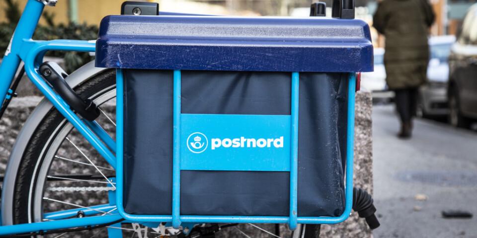 Postnords framtid tas upp i riksdagen. Arkivbild.