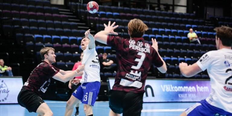 Efter flera veckors sjukdom var Dalibor Doder tillbaka i YIF när laget förlorade mot Lugi.