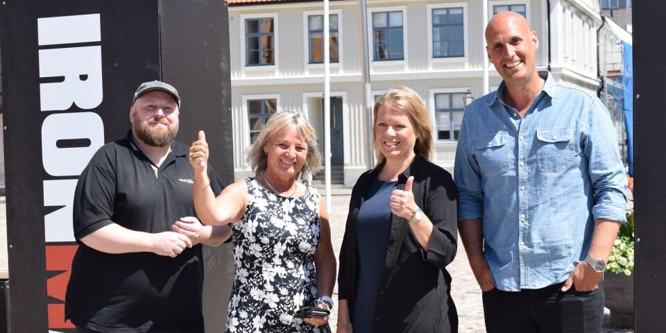 Petter Fältenstedt, Annette Andersson, Lisa Söderholm och Björn Mortensen.