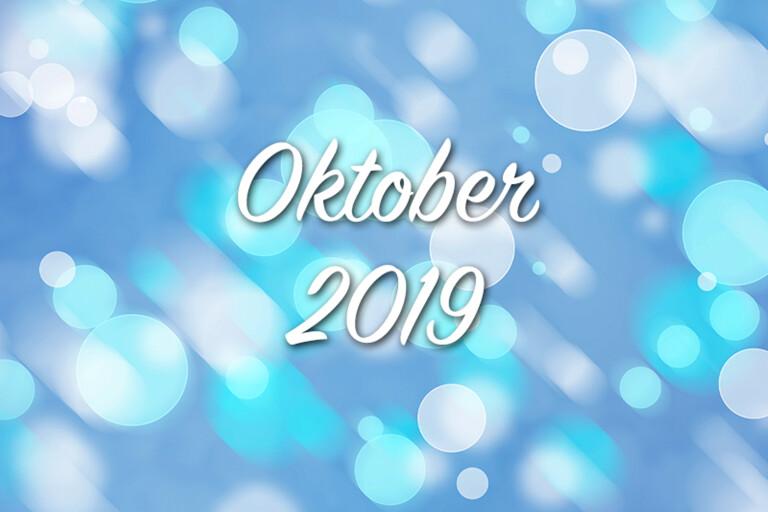 Välkommen till världen oktober 2019