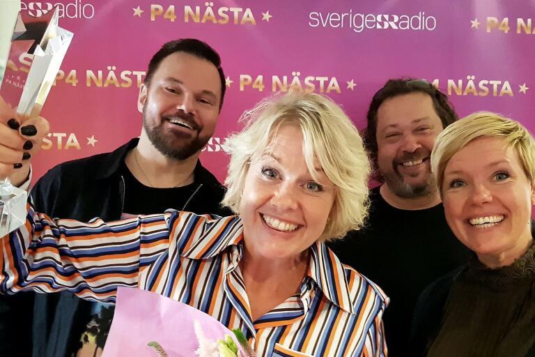 Lisa Blixt från Oskarshamn vann länsfinalen i P4 Nästa. Hon framförde vinnarlåten tillsammans med Johan Mauritzson, Thomas Karlsson och Linnéa Jonasson.