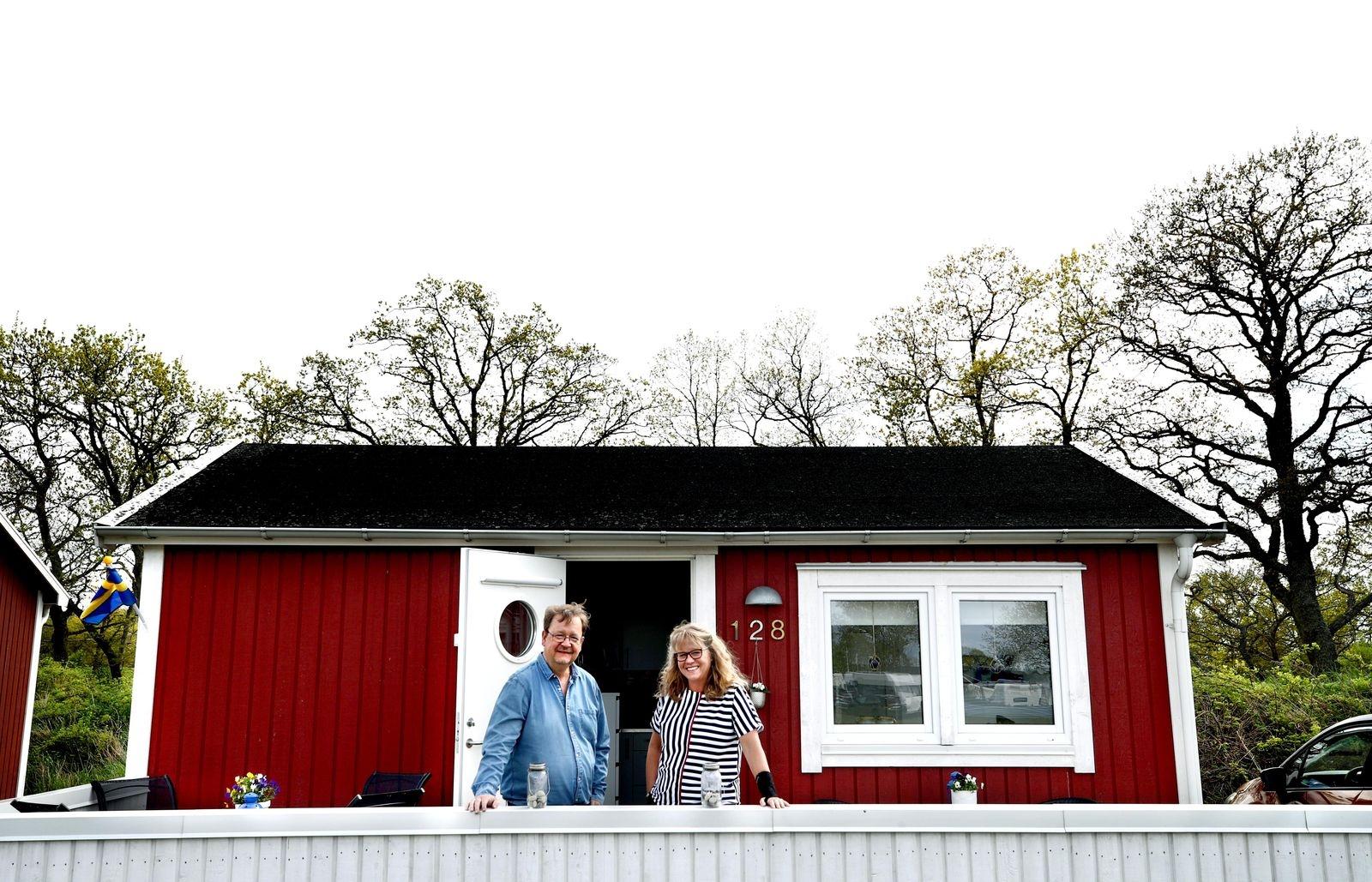 De hittade sin avkoppling på Öland – njuter året runt på 23 kvadrat