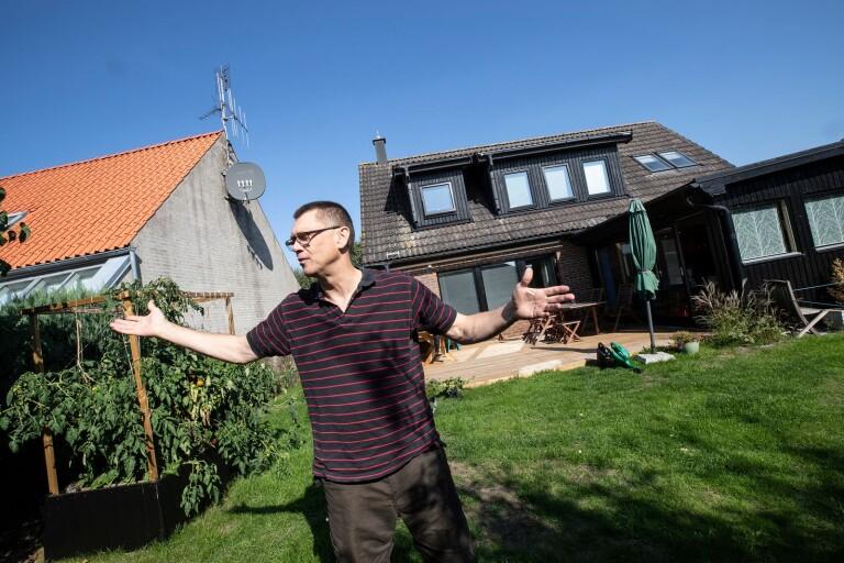 Kommunen vill sätta stopp för hans solcellsplaner