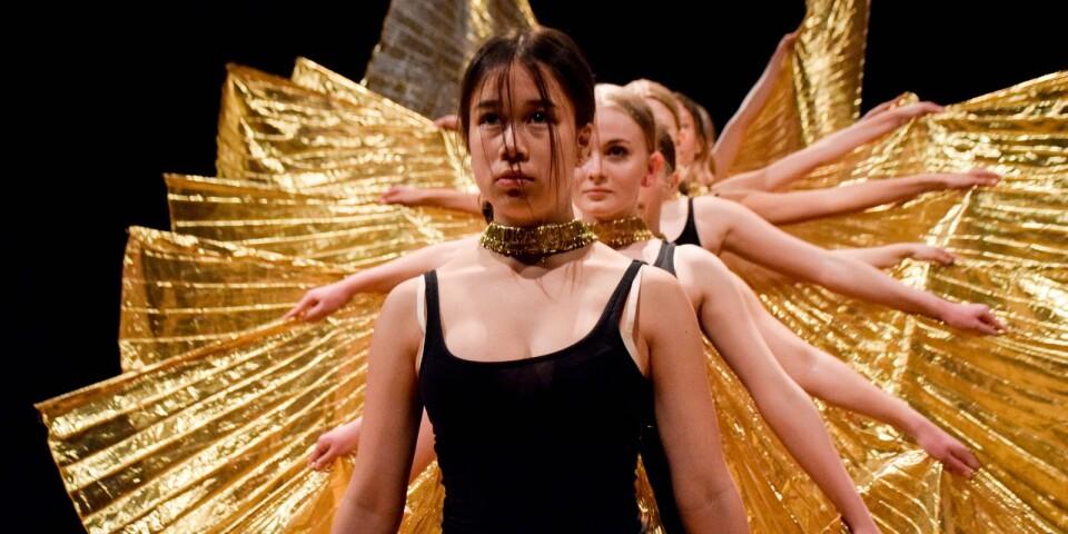 Föreställningen innehöll nitton olika nummer. Kulturskolans proffsiga showgrupp bjöd på en fantastisk final.