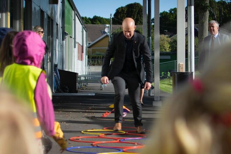 TV: Häng med in i den nya förskolan