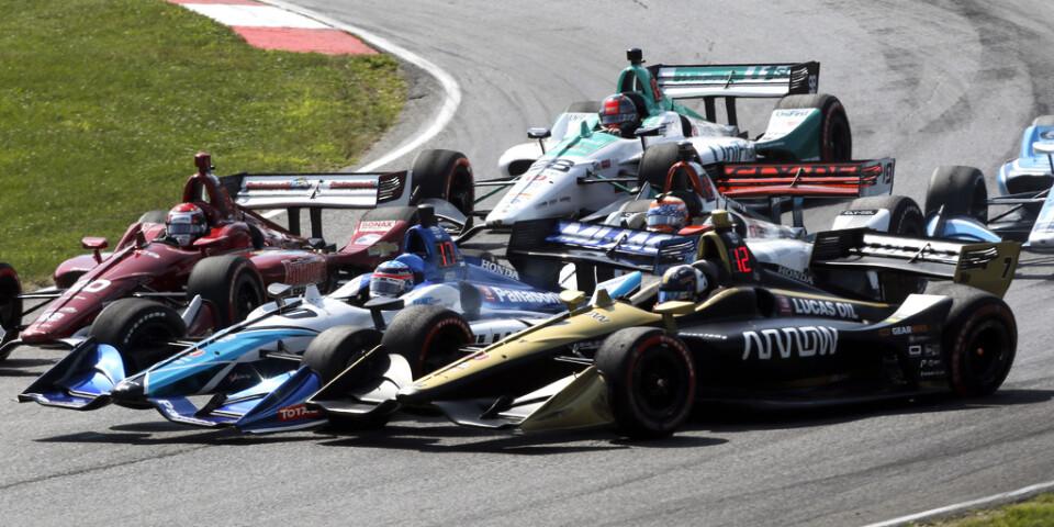 Marcus Ericsson blev sexa i Indianapolis. Arkivbild.