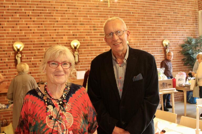 Asta och Göran Johanssons basar blev lyckad. Under samlingen i Kyrkans hus fick de in drygt 55 000 kronor som nu går oavkortat till barnhemmet i Kenya.