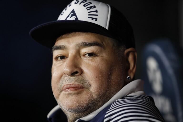 Fotbollslegendaren Diego Maradona är död