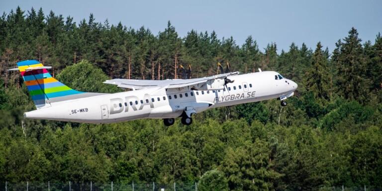 Stockholmsflyget återvänder till Växjö