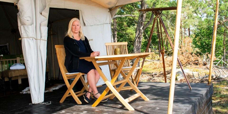 Åsa Olsson är sälj- och marknadschef på Eriksberg vilt och natur.