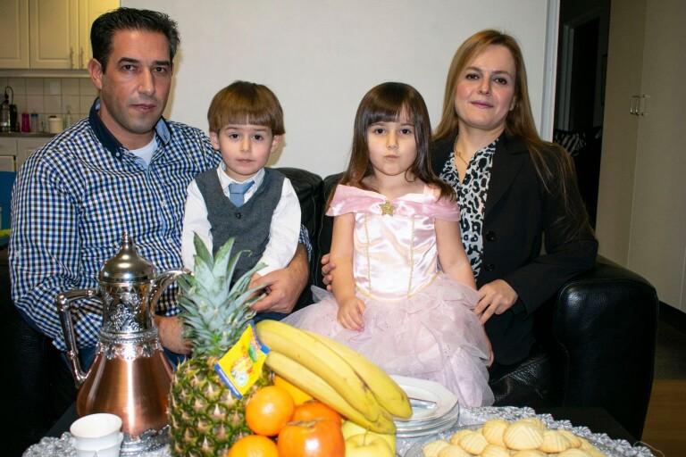 Kakor i fokus under syrisk jul