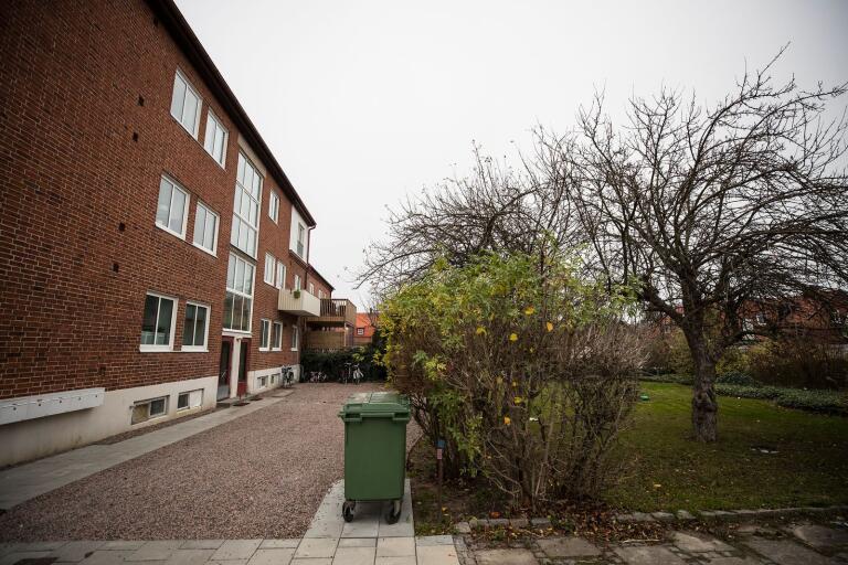 Här vid Ripatorget 8 vill fastighetsägaren bygga en fastighet med sex nya lägenheter.