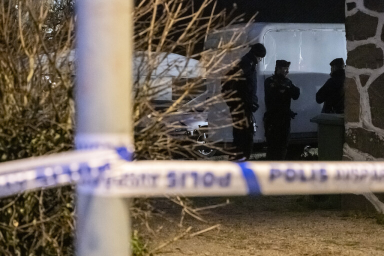 Misstänkt mord i Åstorp