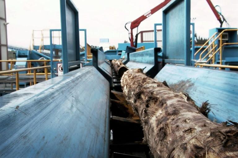 Södra Wood korttidspermitterar på sågen i Mönsterås