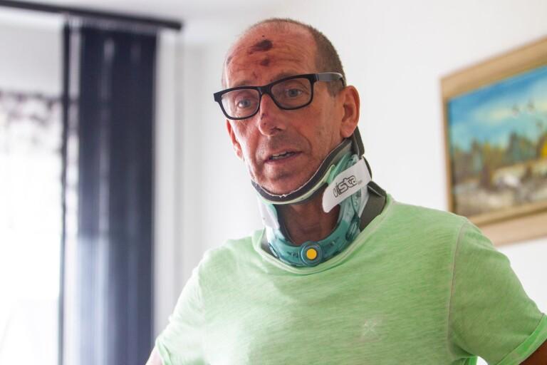 Cyklisten på bättringsvägen efter smitningsolyckan