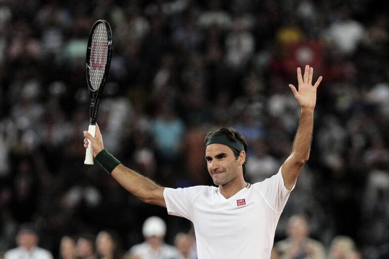 Roger Federer vill slå ihop ATP och WTA. Arkivbild.