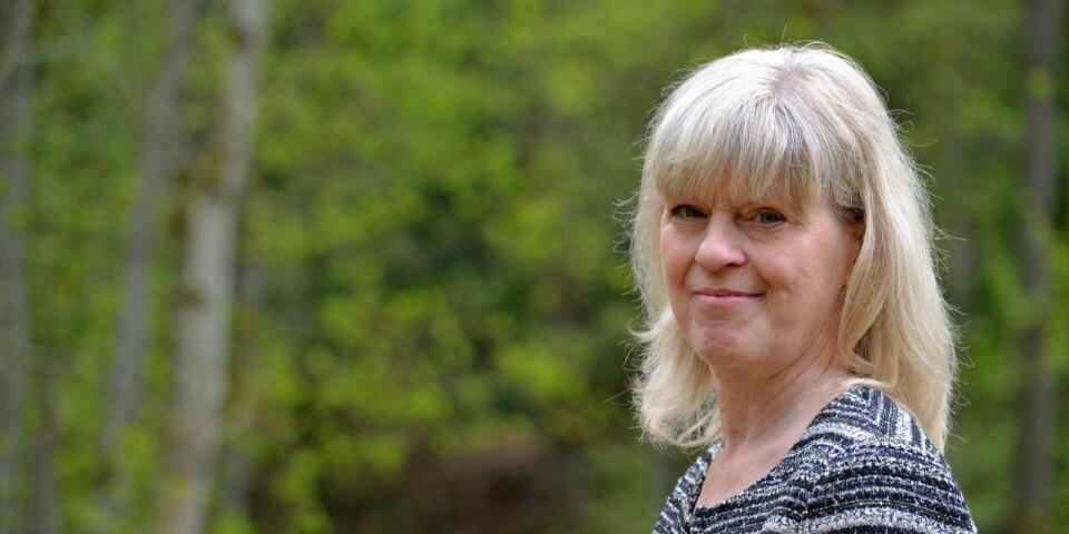 """Annechien Ellens slog sig ner permanent i Bökås 2015. """"Jag har bara varit i Holland två gånger på fyra år sedan jag flyttade hit"""", berättar hon."""