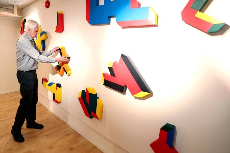 Flera dimensioner i ny utställning