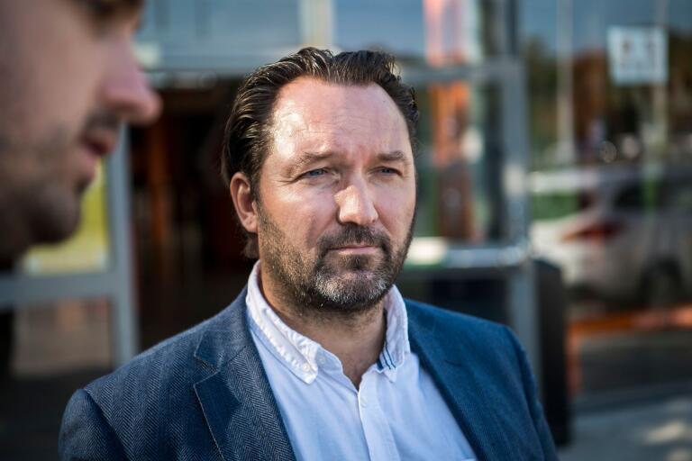 """Karlskrona HK har haft ett första möte med rekonstruktören. """"Han kommer att säkerställa så att vi har en vettig budget"""", säger Karlskrona HK:s ordförande Tobias Larsson."""