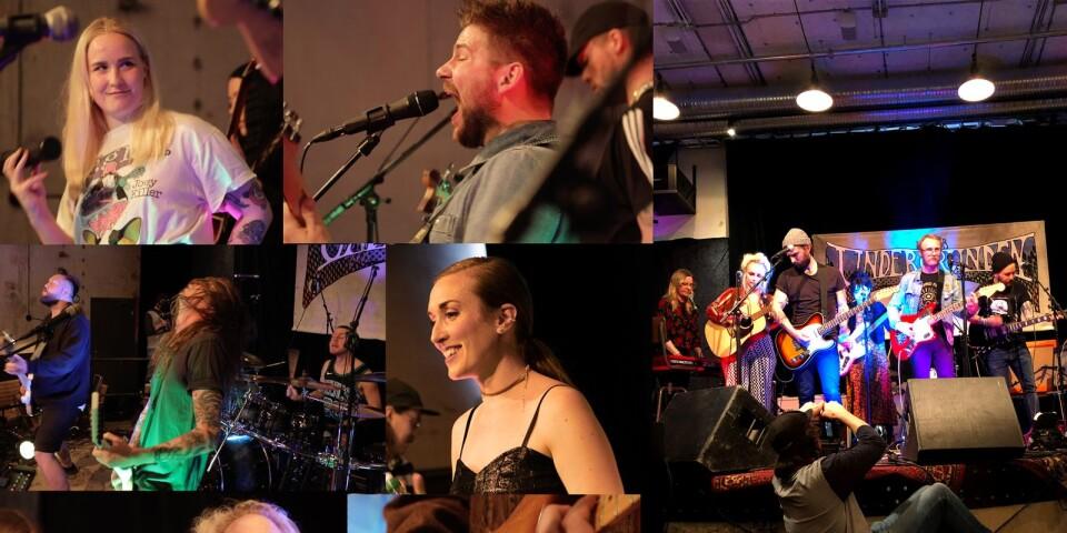 Fem band från Borås med omnejd har spelat in korta konserter som kommer att släppas på Bt.se från och med fredag 24 april.
