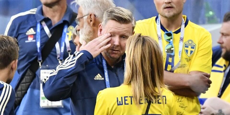 Efter matchen mot England kände Wettergren stor besvikelse. Det vändes till stolthet efter ett tag.
