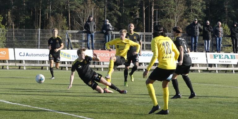 Räppe GoIF avslutade säsongen med förlust