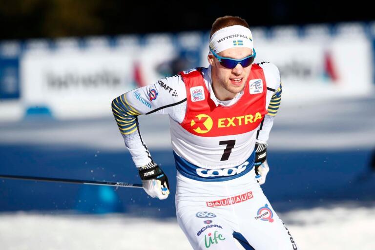 Viktor Thorn. Bild från tidigare under Tour de Ski.