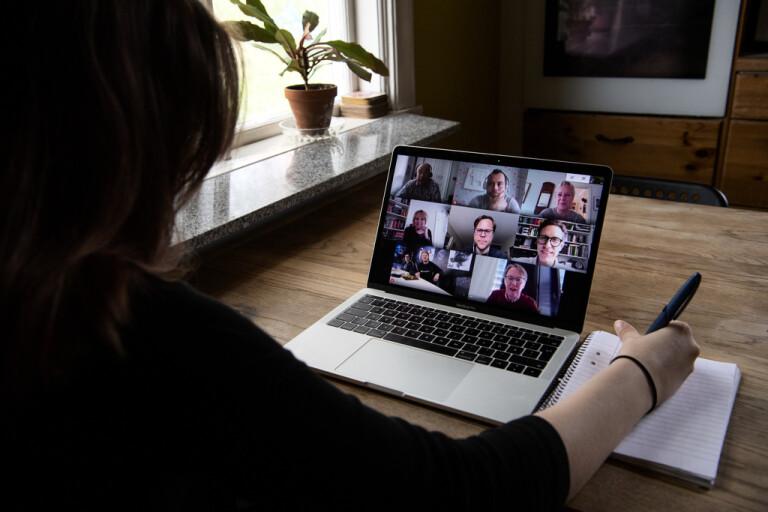 Digitala möten – en vardag som många har fått vänja sig vid runtom i världen i år.