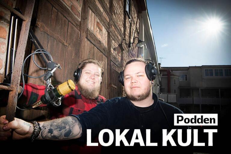 Christian Fernlund och Alexander Lewin driver podden Lokal kult i samarbete med BLT:s och Sydöstrans demokratiprojekt Lokalkorrarna.