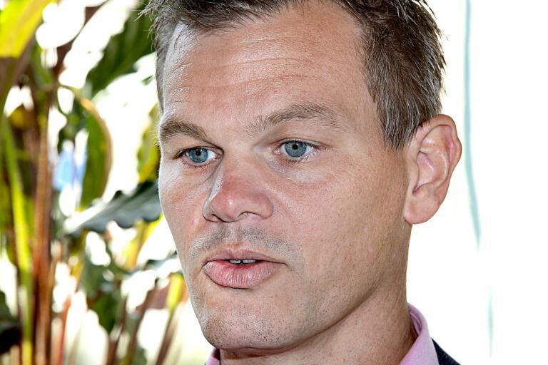 Andreas Erlandsson (S) kan glädja sig över att invånarantalet fortsätter att stiga.