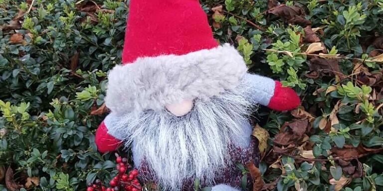 Tomten önskar God Jul med många sköna låtar.