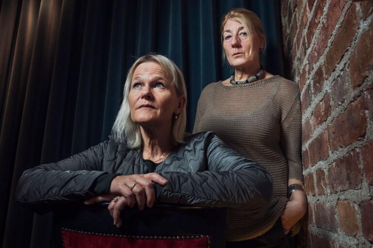 Sissela Kyle och Lotta Tejle spelar huvudrollerna i TV4:s Enkelstöten.