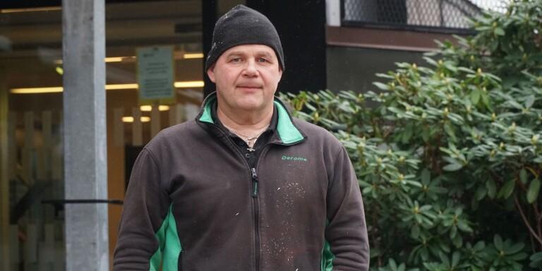 Glenn Glansin, ny gruppledare för Sverigedemokraterna i Mark.