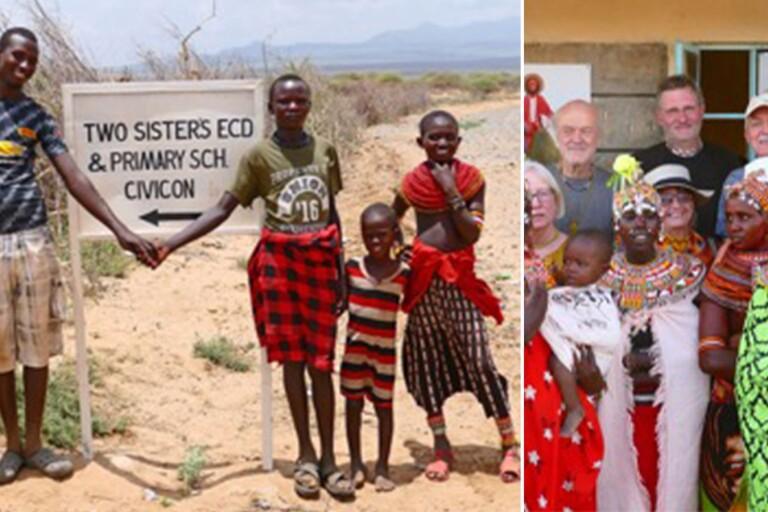 Kenyaresa från Två Systrars församling