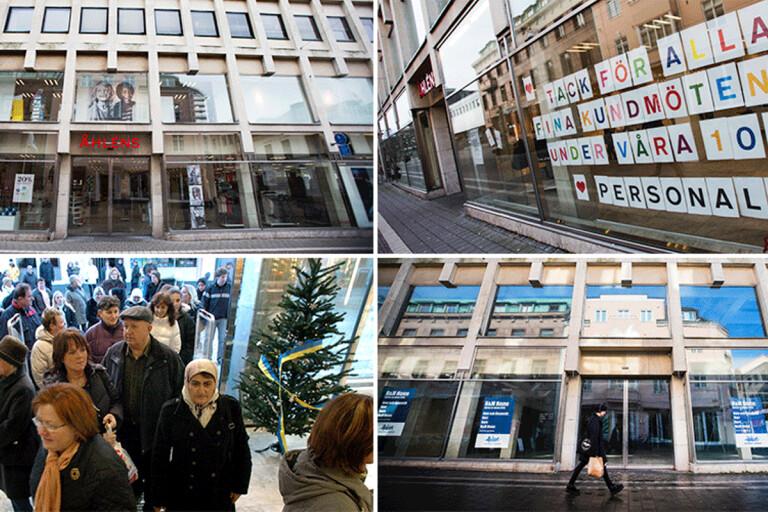 Tidslinje: Abitare, Åhléns och H&M – alla turer genom åren