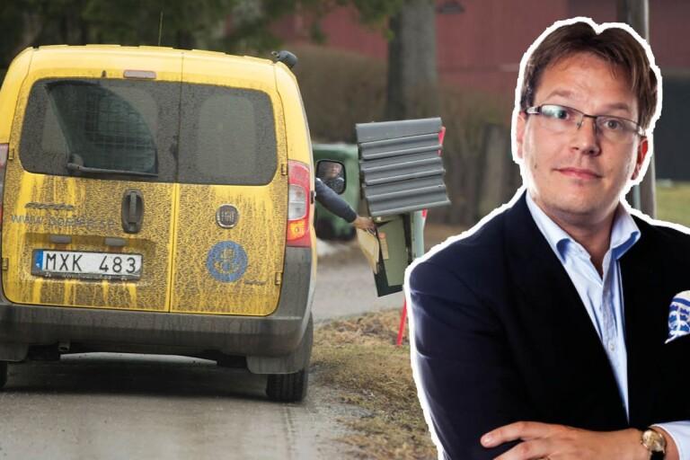 """Tunström: """"Även den sista utposten ska få brev varje dag"""""""