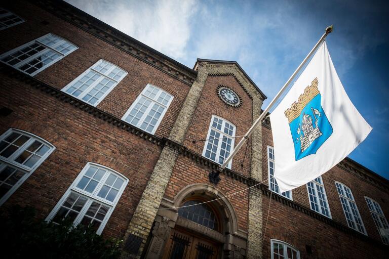 Trelleborgs rådhus.