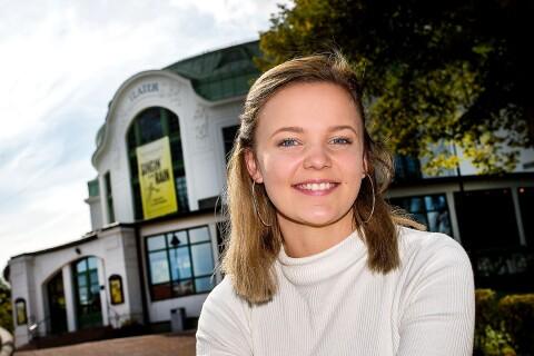 """Sissela Persson dansar in på """"finaste teatern"""""""
